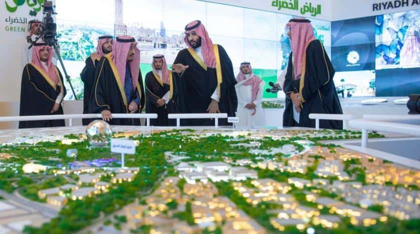 Saudi King Launches 4 Riyadh Mega Projects