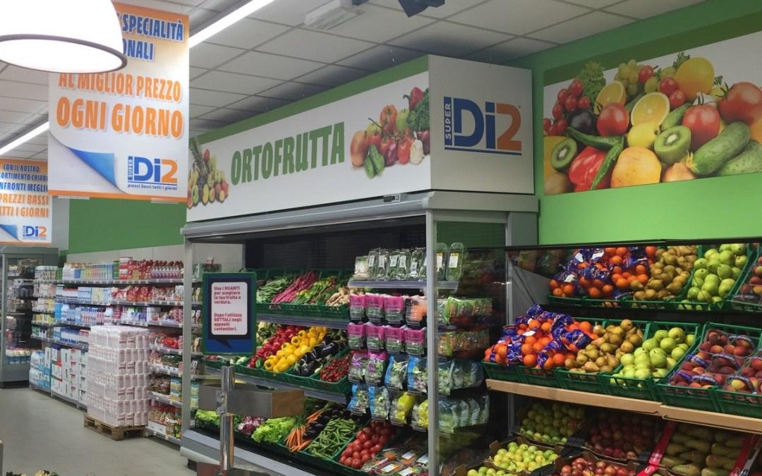 Segnaletica, cartellonistica Supermercato.