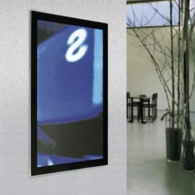 esempio cornice luminosa installata