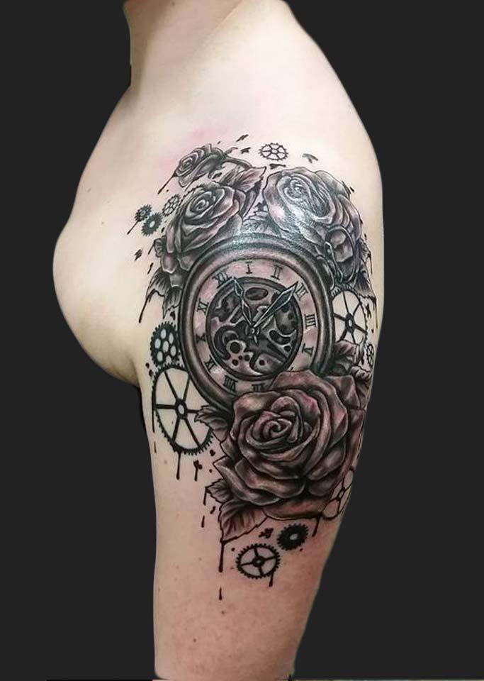 Neon Dragon Tattoos : dragon, tattoos, Phillippe, Tattoo, Artist, Dragon, Cedar, Rapids,