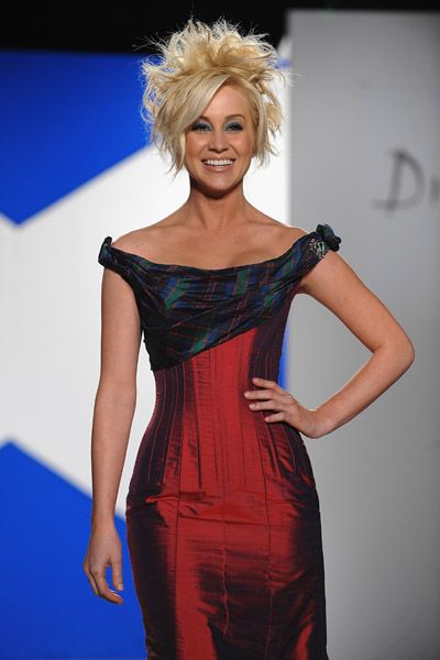 Out  About Kellie Pickler Is Dressed To Kilt In New York  Neon Limelight  Exclusive