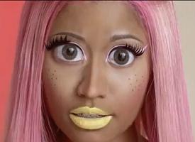 New Video Nicki Minaj Unleashes Colorful Stupid Hoe