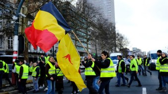 french yellow vests inspired similar protests in belgium