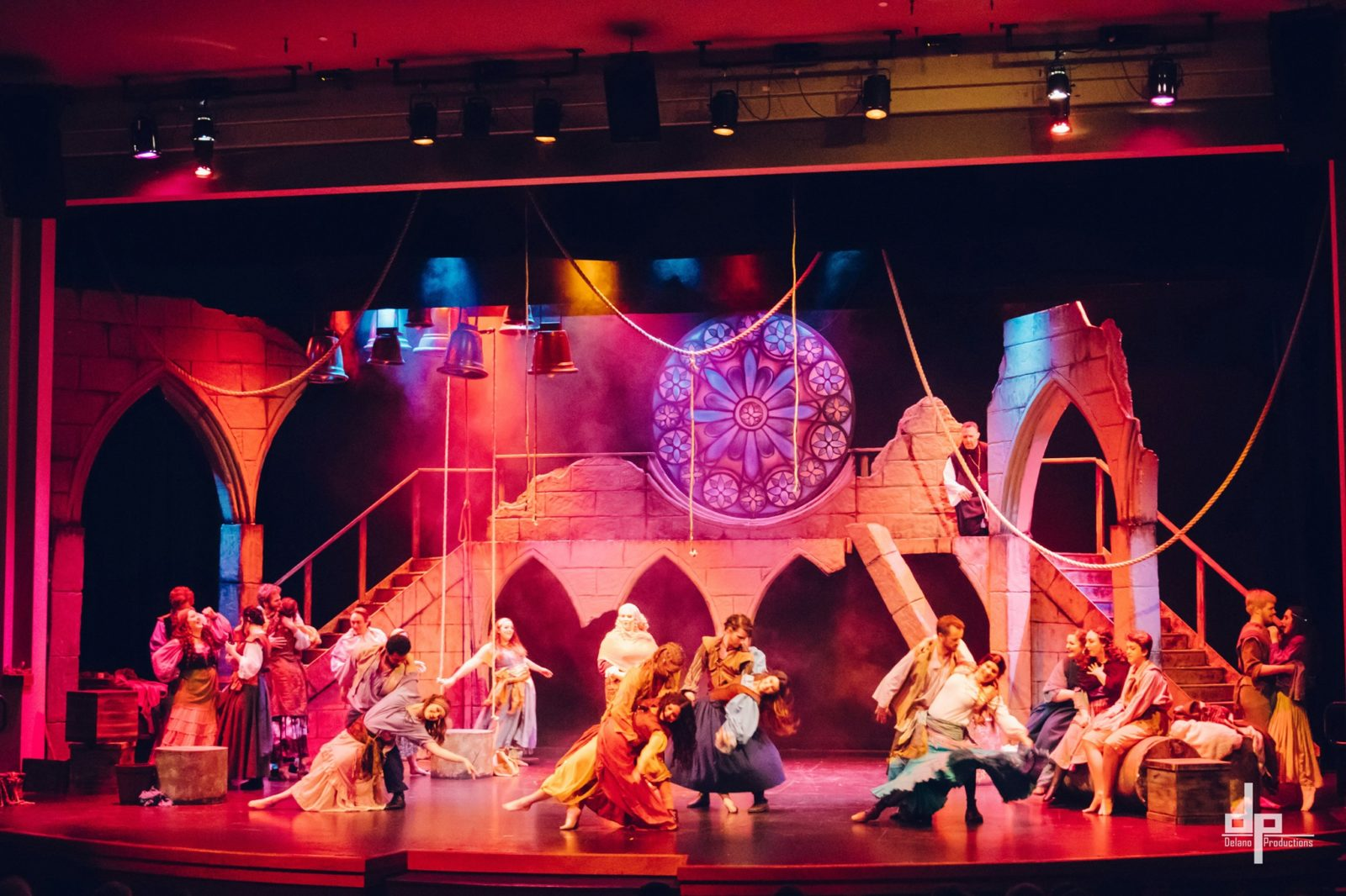 The Kroc Center's 2019 production of the Hunchback of Notre Dame