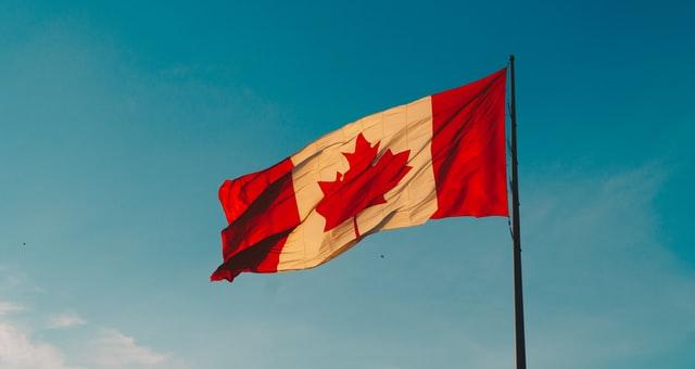 Canada Flag, to celebrate GivingTuesday Canada