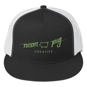 Full Logo Trucker Cap – green