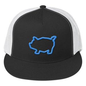 Piggy Trucker Cap – blue