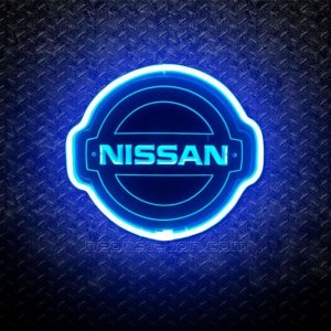 Nissan 3D Neon Sign