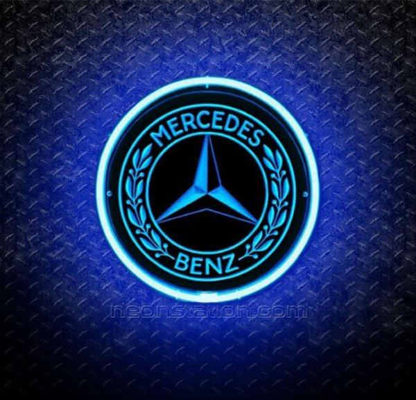 Mercedes Benz 3D Neon Sign