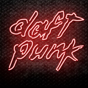 Daft Punk Neon Sign