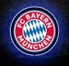 Bayern Munich FC 3D Neon Sign