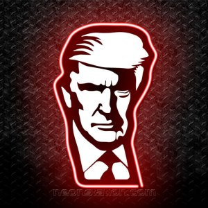 Donald Trump 3D Neon Sign