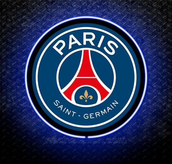 Paris Saint Germain 3D Neon Sign