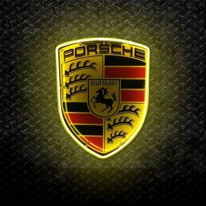 Porsche Stuttgart Neon Sign