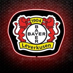 Bayer Leverkusen 3D Neon Sign