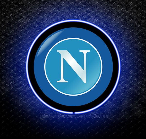 SSC Napoli 3D Neon Sign
