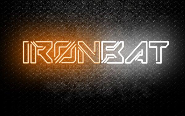 Ironbat Neon Sign