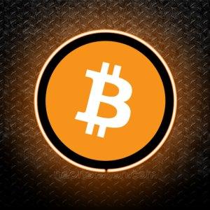 Bitcoin 3D Neon Sign