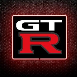 Nissan GTR 3D Neon Sign
