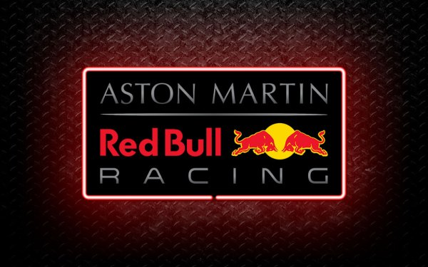 Aston Martin Red Bull Racing 3D Neon Sign