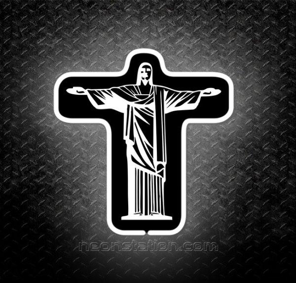 Christ the Redeemer 3D Neon Sign