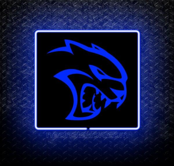 Dodge Hellcat Demon 3D Neon Sign
