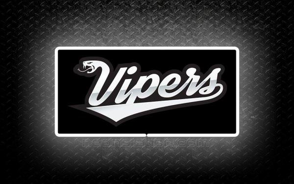 Dodge Viper 3D Neon Sign