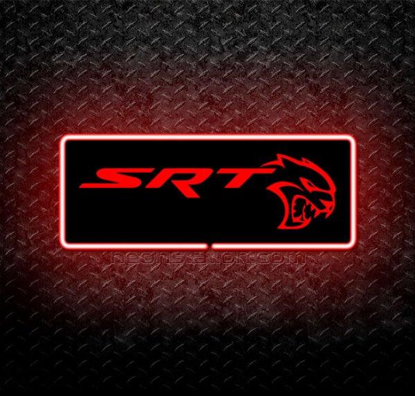 Dodge Viper SRT 3D Neon Sign