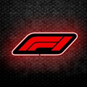 F1 Formula 1 3D Neon Sign