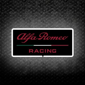 Formula One F1 Alfa Romeo Racing 3D Neon Sign