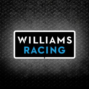 Formula One F1 Williams Racing 3D Neon Sign