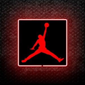 Micheal Jordan Jumpman 3D Neon Sign