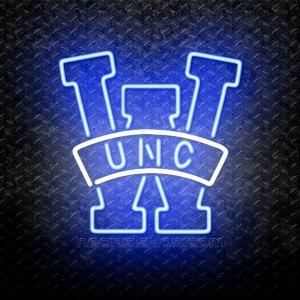 NCAA UNC Wilmington Seahawks Logo Neon Sign