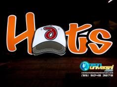 Caja luminosa logo Hats 2