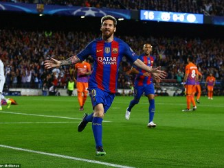 Barcelona Vs Manchester United States, Barcelona defeated Menchester United States, Barcelona wins over Manchester united States, Lionel Messi Hatrick in Barcelona Vs Manchester United States, Lionel Messi Hatrick in EPL Season 2016-2017, English Premier League
