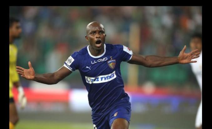 Dudu has scored hat trick goal for his team in the ISL.