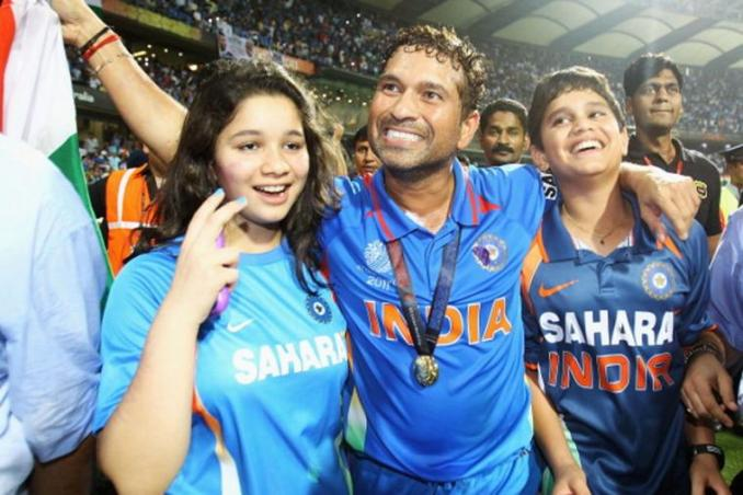 Sachin Tendulkar played his last match