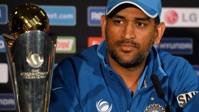 Dhoni completed 12,000 runs in List A cricket to become the 6th Indian and 48th overall to achieve the feat.