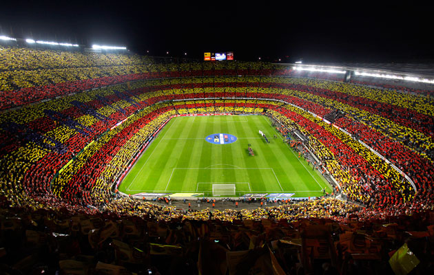 Trending: Barcelona's Camp Nou is third largest football stadium in the world