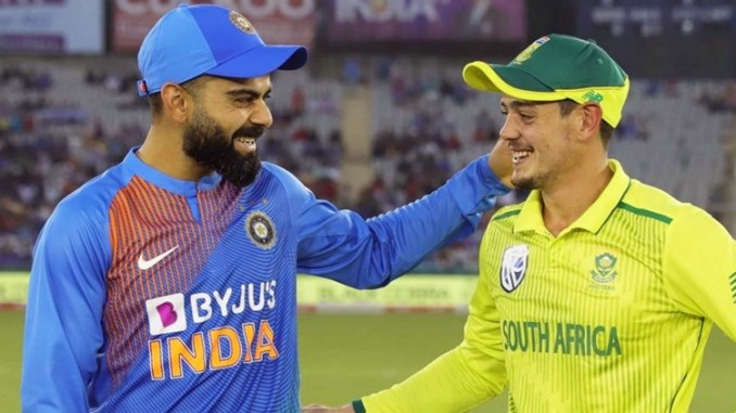The ODI Series between India and South Africa
