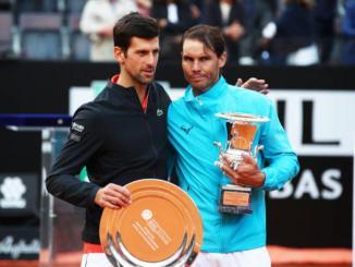 Novak Djokovic on Rafael Nadal