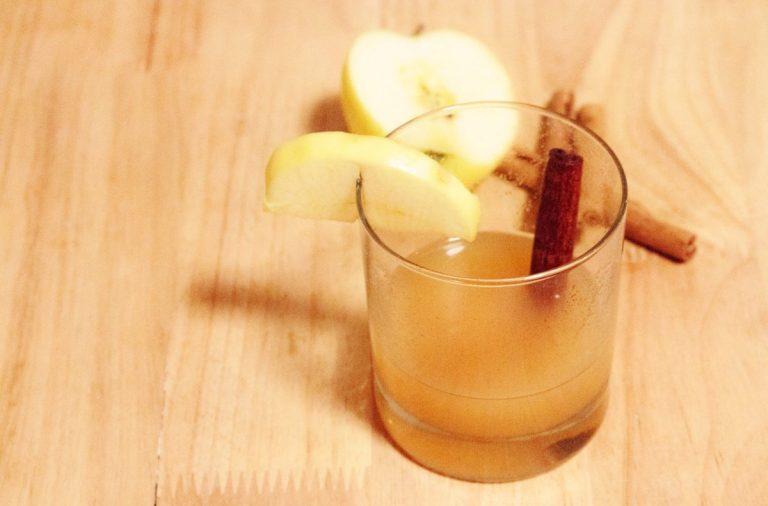 jus de pomme chaud