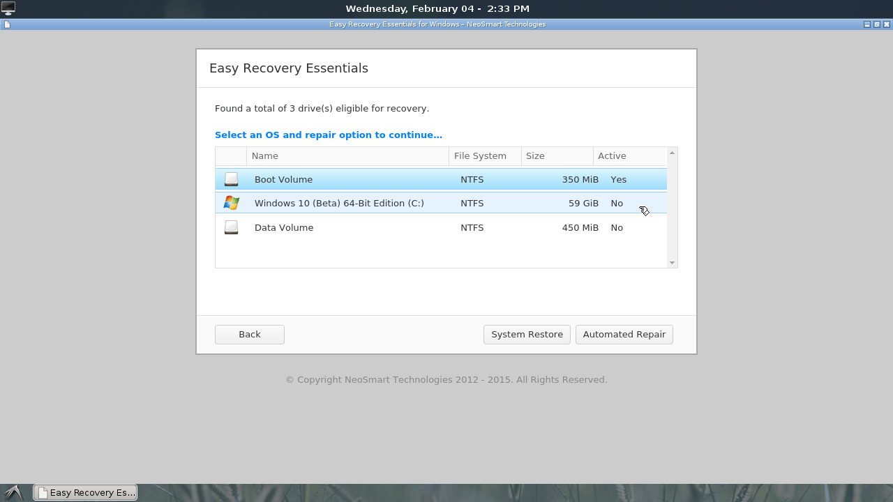 Windows 10 Recovery CD Free Download
