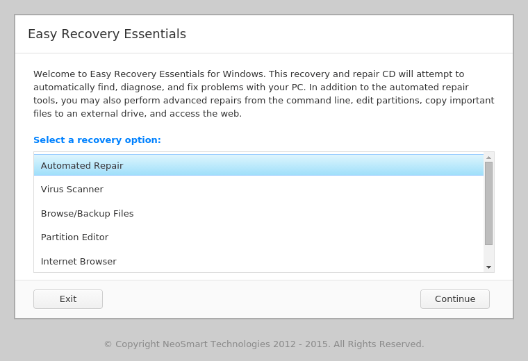 easy recovery essentials for windows 8 free download
