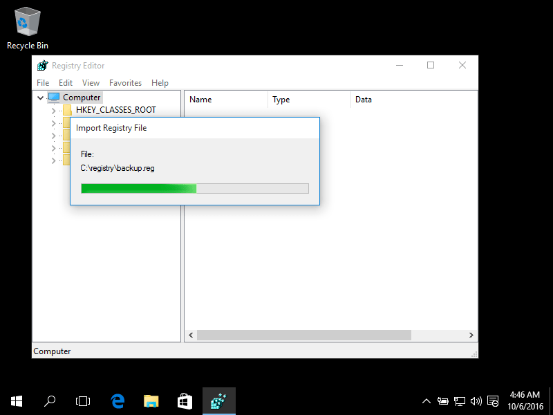 restore exe file extension windows 7