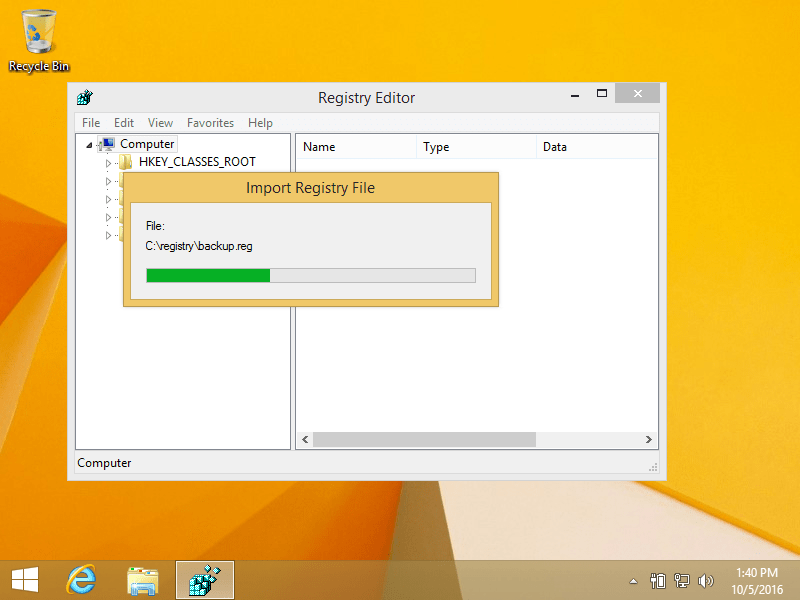 Backup and Restore the Registry – Guide for Windows XP, 7, 8