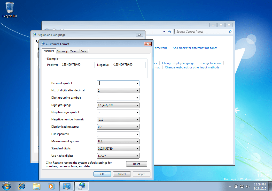 System Restore: The parameter is incorrect – Fix for Windows 7