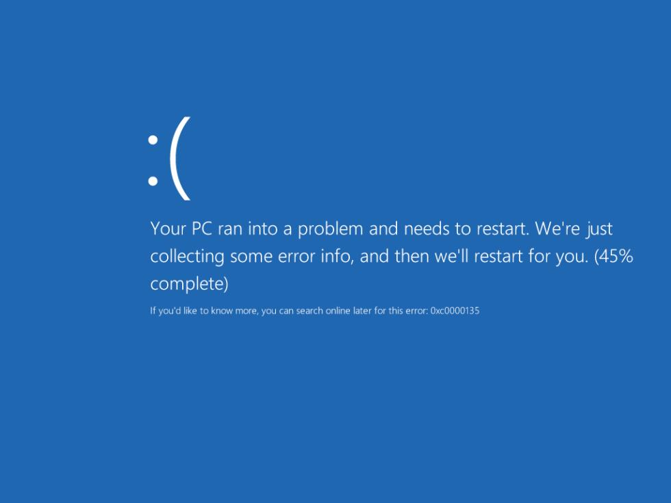 Windows 10 User32 dll not found error screen