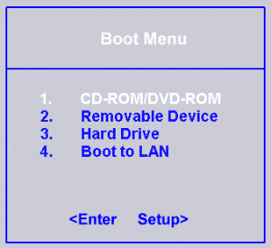 Reboot and select proper boot device: Fix for Windows XP