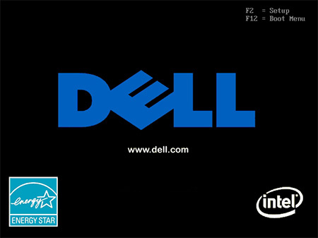 Dell BIOS screen showing special key options